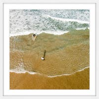 Marmont Hill - 'In the Tide' by Karolis Janulis Framed Painting Print - Multi