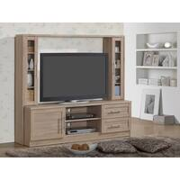 Modern Designs Tan Wood TV Stand