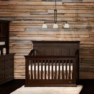 Evolur Napoli Cappuccino-colored Wood 5-in-1 Convertible Crib