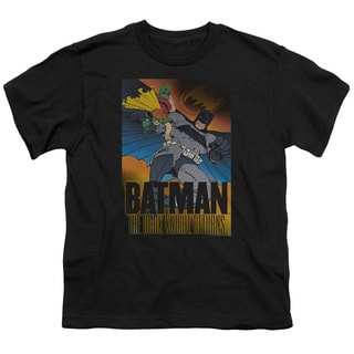 Batman/Dk Returns Short Sleeve Youth 18/1 in Black