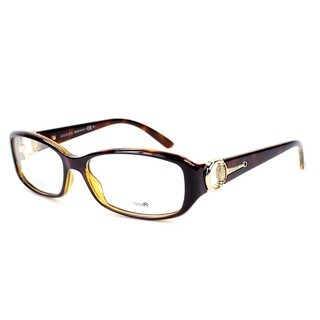 Gucci 3204 0UOO Womens Rectangular Eyeglasses