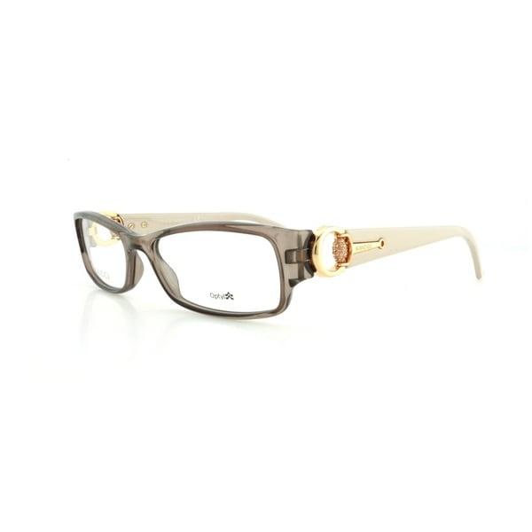 79ae8967473 Shop Gucci 3553 0Q7O Womens Rectangular Eyeglasses - Free Shipping ...