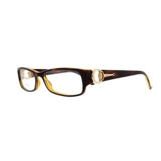 Gucci 3553 0UOO Womens Rectangular Eyeglasses