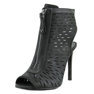 Vince Camuto Women's Waver Black Leather Boots