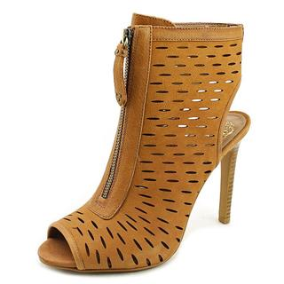 Vince Camuto Women's Waver Tan Leather High-heel Boots