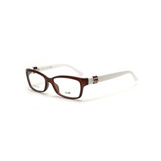 Gucci 3647 00YS Womens Rectangular Eyeglasses