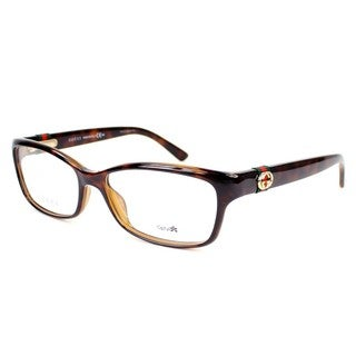 Gucci 3647 0DWJ Womens Rectangular Eyeglasses