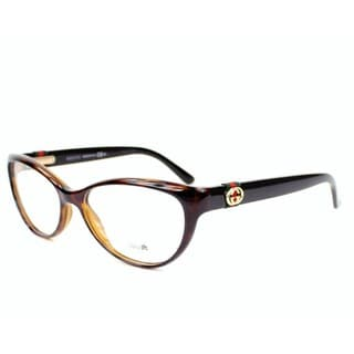 Gucci 3682 02XF Womens Cat Eye Eyeglasses