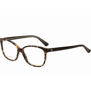 Gucci 3724 0HPA Womens Rectangular Eyeglasses