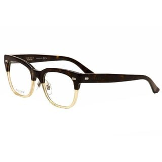 gucci 3747 0x9q womens rectangular eyeglasses