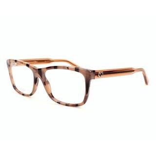 Gucci 3765 0GX7 Womens Rectangular Eyeglasses
