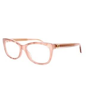 Gucci 3822 0R4F Womens Rectangular Eyeglasses