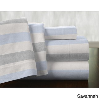 Pointehaven Superior 175 GSM Weight Cotton Deep Pocket Flannel Sheet Set (More options available)