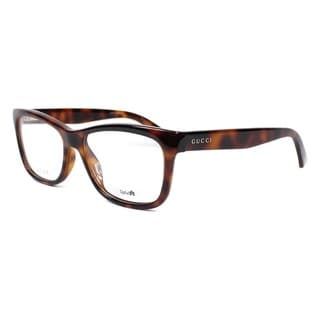 Gucci 3853 0MQL Womens Rectangular Eyeglasses