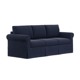 Handy Living Bella Skirted Slipcover for Handy Living Undercover Custom Bella SoFast Sofa