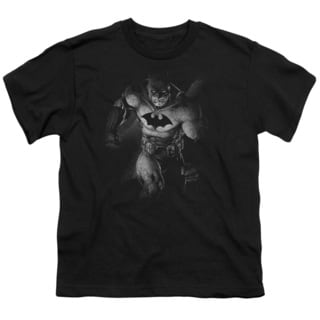 Batman/Materialized Short Sleeve Youth 18/1 in Black
