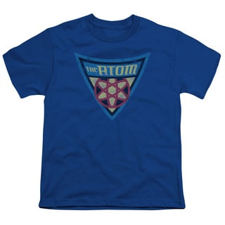 Batman Bb/The Atom Shield Short Sleeve Youth 18/1 in Royal