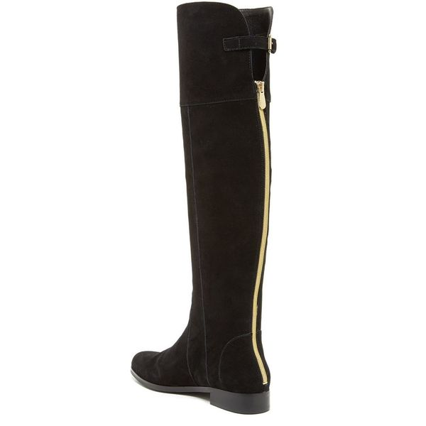 Knee Flat Boots - Overstock