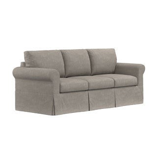 Portfolio Undercover Custom Bella SoFast Sofa with Skirted Slipcover