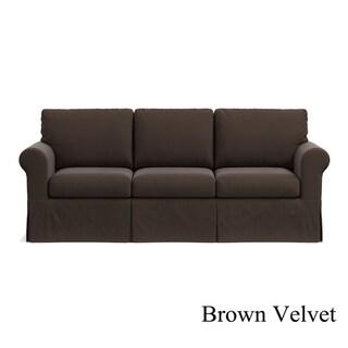 Portfolio Undercover Custom Bella SoFast Sofa with Skirted Slipcover