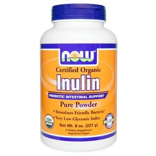 Now Foods 8-ounce Organic Inulin Powder