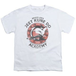 Bruce Lee/Jeet Kune Short Sleeve Youth 18/1 in White