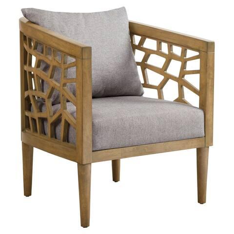 Carson Carrington Lihula Light Grey Lounge Accent Chair