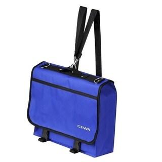 Gewa 277401 Blue Cordura Music Stand and Sheet Music Basic Gig Bag