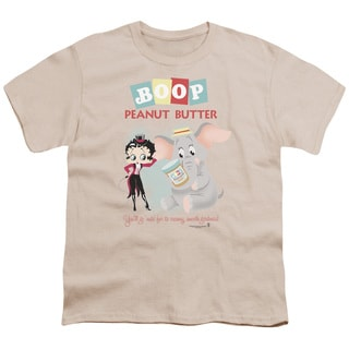 Boop/Boop Peanut Butter Short Sleeve Youth 18/1 in Cream