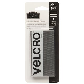 "Velcro 91373 4"" X 2"" Titan Strip 2-count"