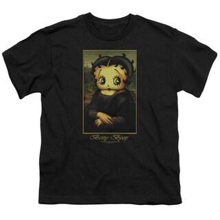 Boop/Boopalisa Short Sleeve Youth 18/1 in Black