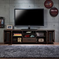Misenia Industrial Walnut 70-inch TV Stand by FOA