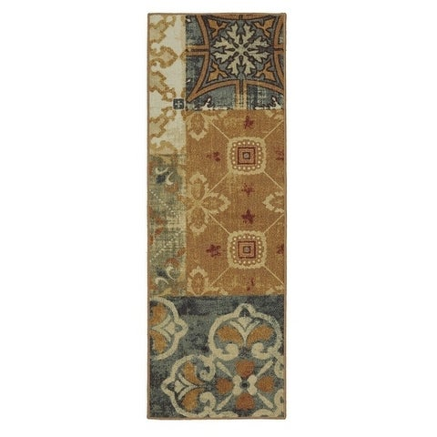 "Mohawk Soho Harmonic Patch Multi Runner Rug (1'8 x 5') - 1' 8""x5'"