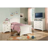 Picket House Furnishings Addison White Full Panel 6PC Bedroom Set