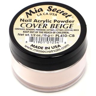 Mia Secret 0.5-ounce Acrylic Powder Cover Beige