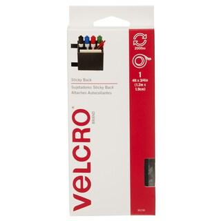 """Velcro 90136 3/4"""" X 4' Black Sticky Back Tape"""