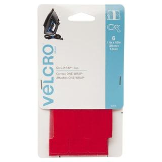 "Velcro 90475 1/2"" X 11"" Green ONE-WRAP Ties 6-count"