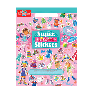 Daisy Girls Dress-Ups Super Stickers Book