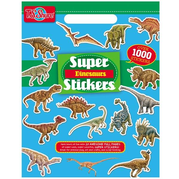 Dinosaur Super Sticker Book