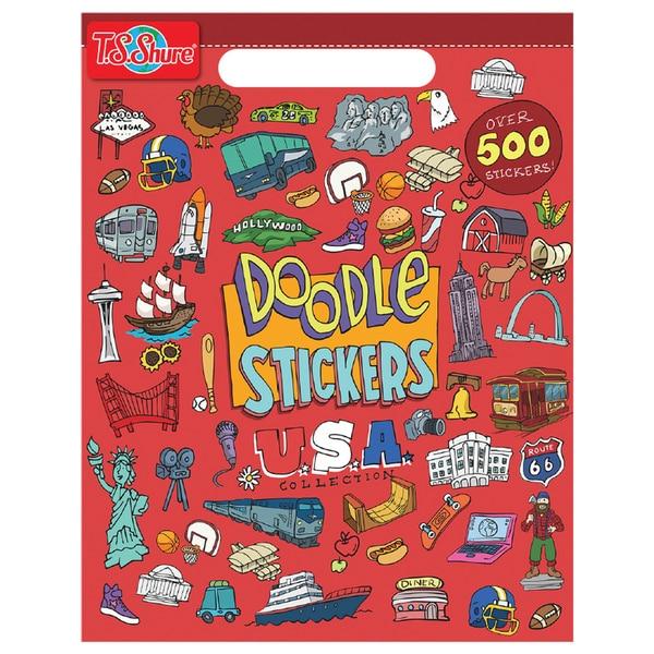 Doodle USA Sticker Book