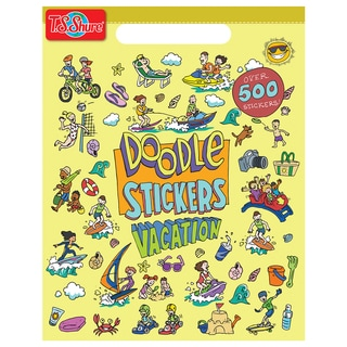 Doodle Vacation Sticker Book