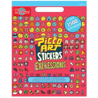 Picto Art Expressions Talk Sticker Book