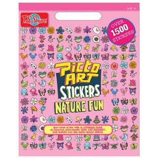 Picto Art Nature Fun Sticker Book
