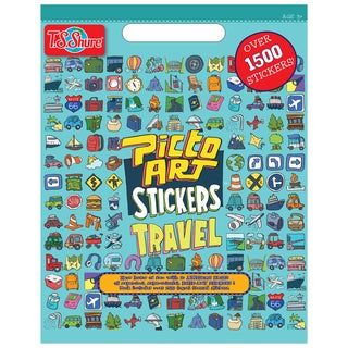 Picto Art Travel Sticker Book