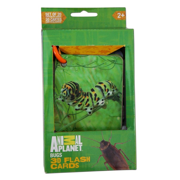 Animal Planet Bugs 3D Flash cards