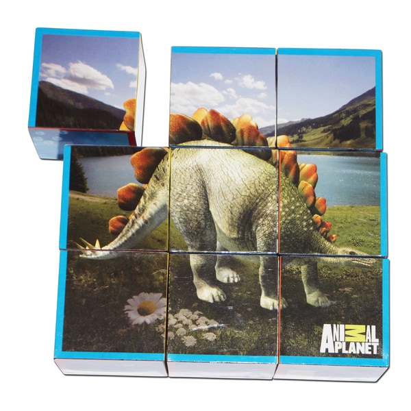 Animal Planet Dinosaurs Puzzle Cubes