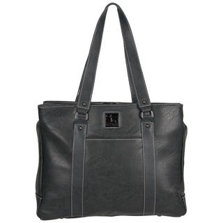 Kenneth Cole Reaction Solid-colored Faux-leather Pebbled Top-zip 15-inch Laptop Tote Bag https://ak1.ostkcdn.com/images/products/12819187/P19587149.jpg?_ostk_perf_=percv&impolicy=medium