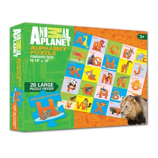 Animal Planet Animal Alphabet Puzzle