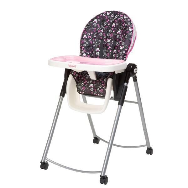 Excellent Disney Baby Minnie Pop Adjustable High Chair Customarchery Wood Chair Design Ideas Customarcherynet