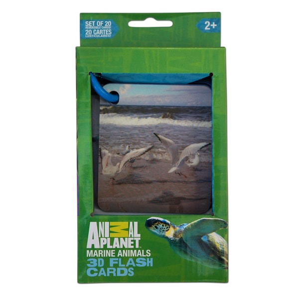 Animal Planet Marine Animals 3D Flash Cards